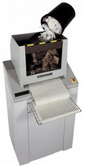 Intimus 852CC Cross-cut Shredder - PaperFolder.com